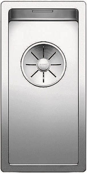 Кухонная мойка Blanco Claron 180-U InFino зеркальная полированная сталь 521565 кухонная мойка blanco claron 500 if infino зеркальная полированная сталь 521576
