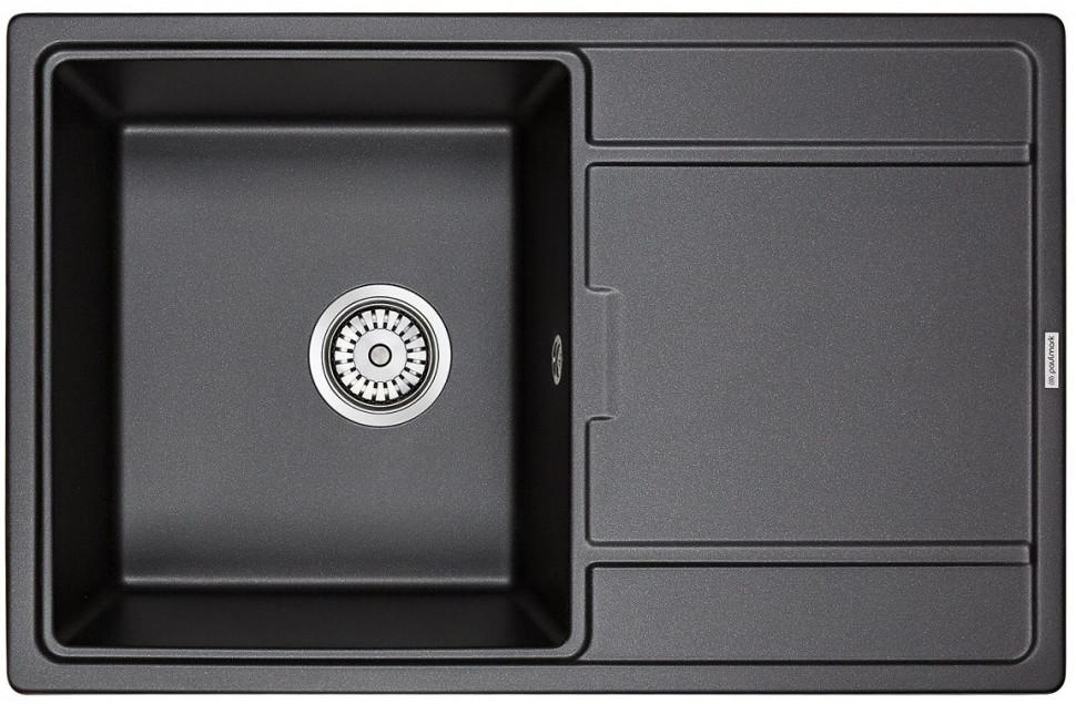 Кухонная мойка Paulmark Flugen черный PM217850-BL фото