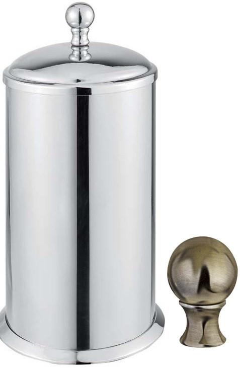 Контейнер для ватных дисков Cezares Aphrodite APHRODITE-PC-02-M контейнер для ватных дисков cezares aphrodite aphrodite pc 01 m