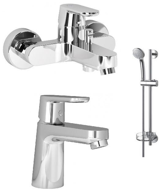 Комплект смесителей (3 в 1) Ideal Standard Vito B1132AA смеситель ideal standard ideal сераплан 3 сет 3 в 1