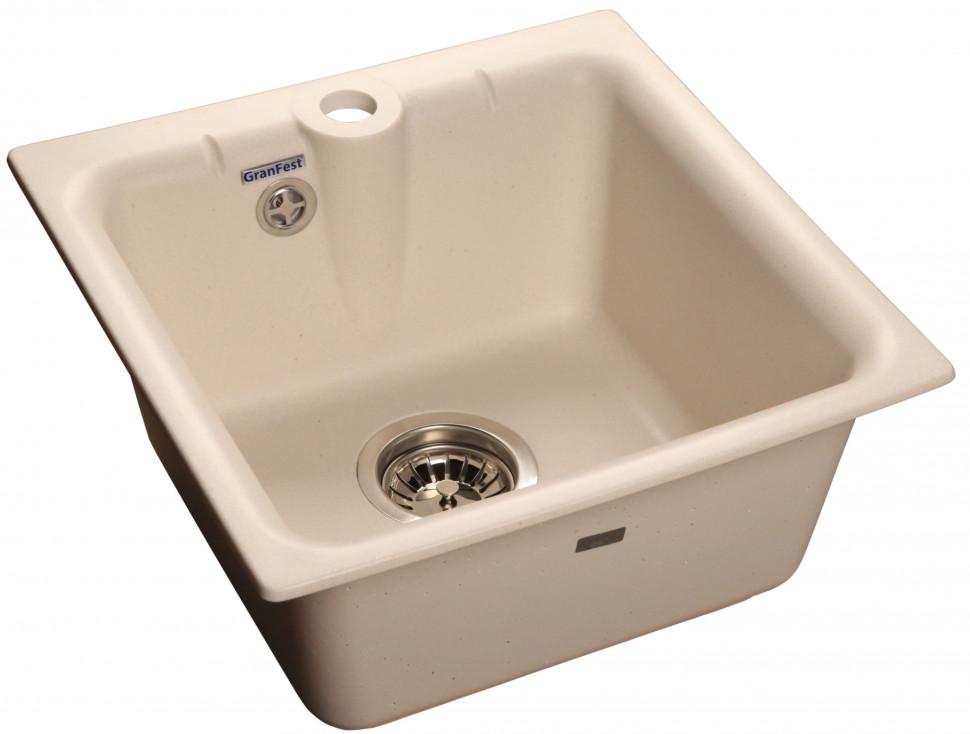 Кухонная мойка белый GranFest Practic GF-P420 цены