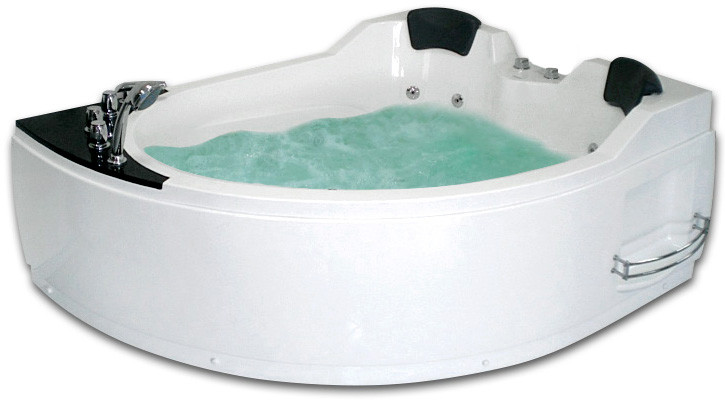 Акриловая гидромассажная ванна 170х133 см R Gemy G9086B