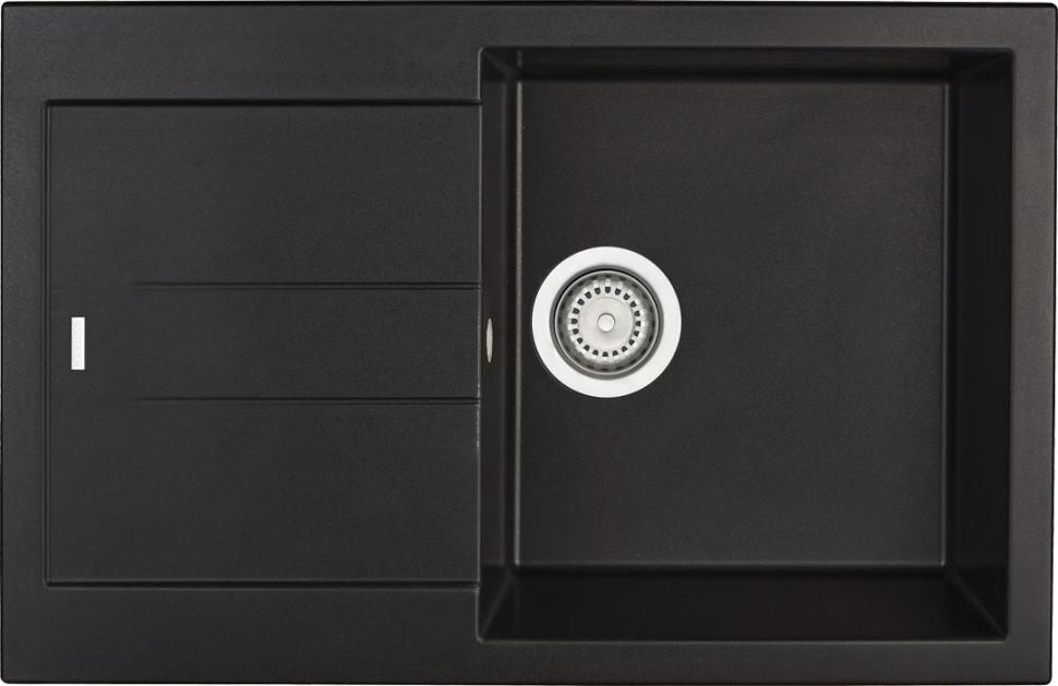 Кухонная мойка оникс Longran Amanda AMG780.500 - 10 мойка longran ultra uls615 500 15 10 оникс