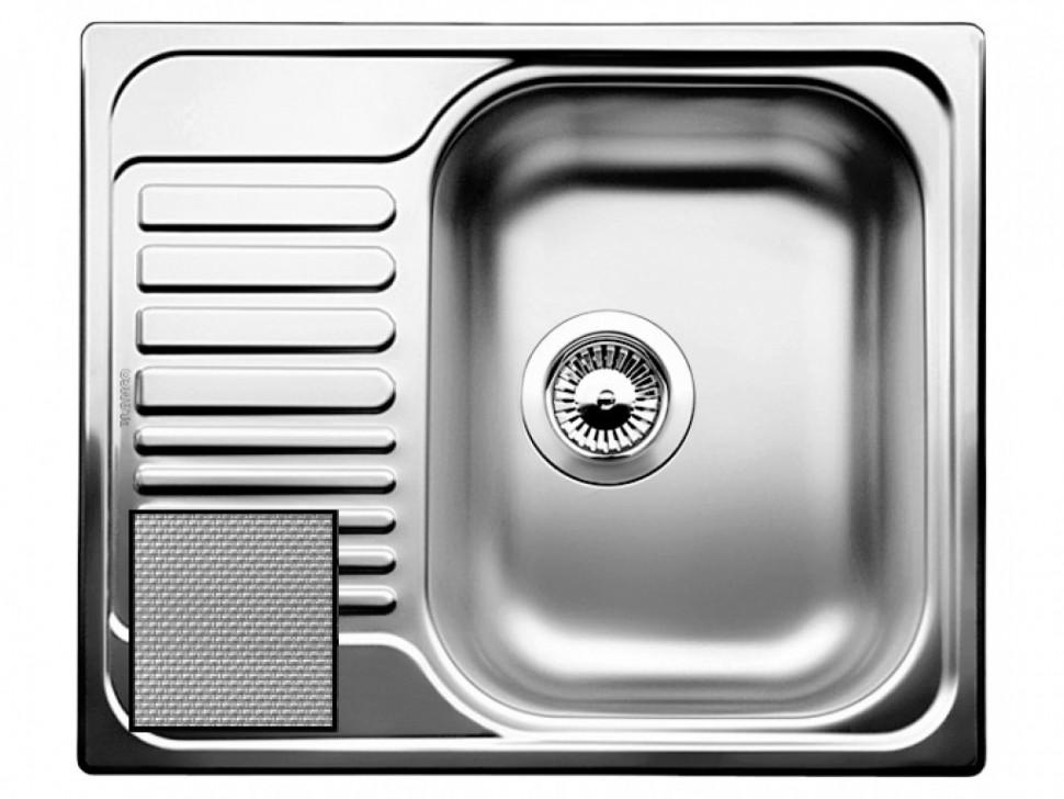 Кухонная мойка Blanco Tipo 45S Mini Декоративная сталь 516525 фото