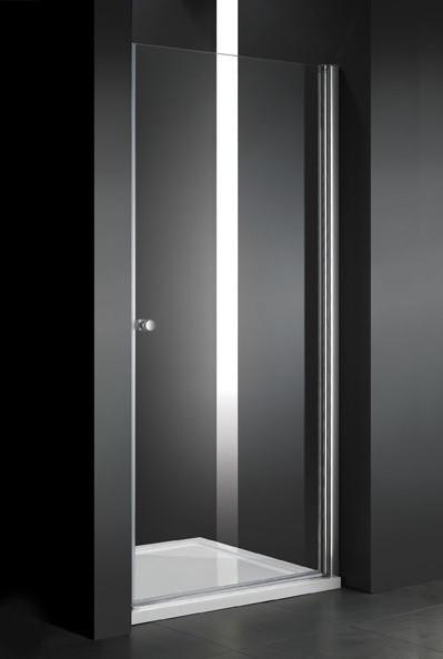 Душевая дверь распашная Cezares Elena 60 см текстурное стекло ELENA-W-B-1-60-P-Cr-R фото