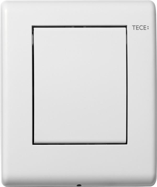 Смывная клавиша для писсуара TECE TECEplanus белый матовый 9242312 система электронного управления смывом писсуара питание от сети tece teceplanus белый матовый 9242355