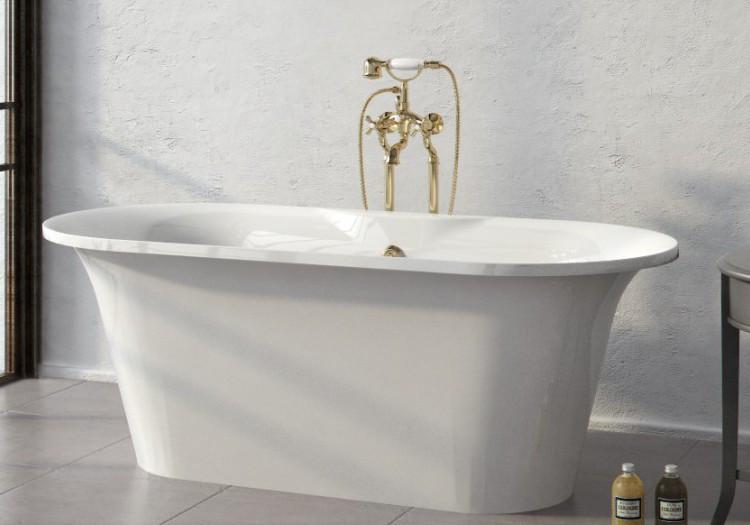 Ванна из литого мрамора 174х80 см Astra-Form
