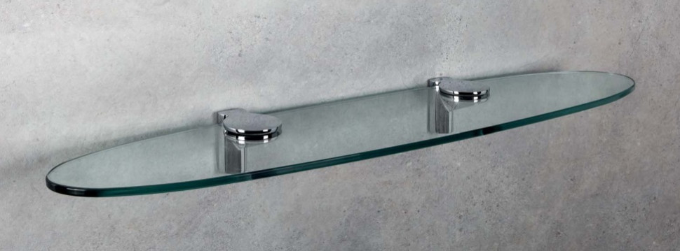 Полка стеклянная 72 см Colombo Design Luna B0130 стоимость