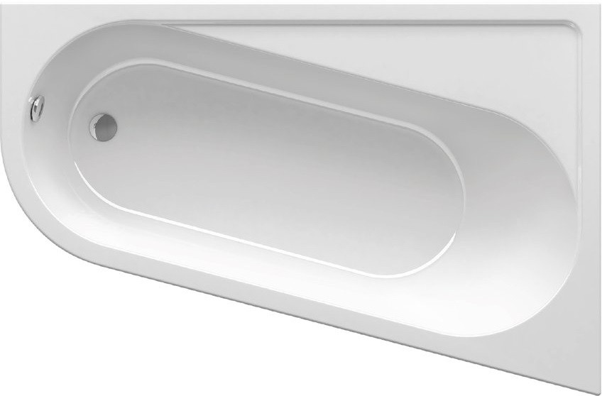 Акриловая ванна 170х105 см Ravak Chrome CA41000000 ravak гидромассажная ваннаravak chrome 160 см