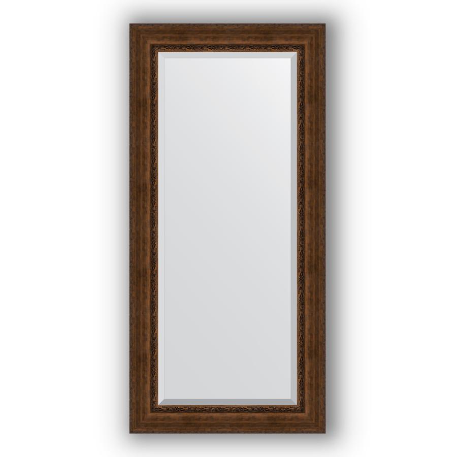 Зеркало 82х172 см состаренная бронза с орнаментом Evoform Exclusive BY 3611