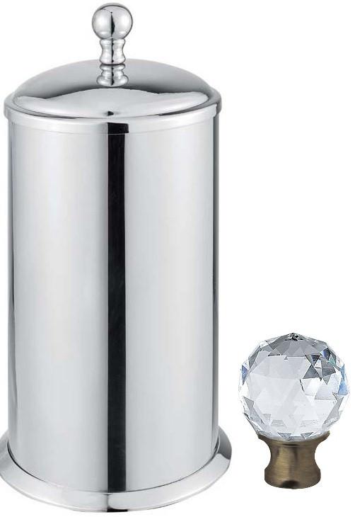 Контейнер для ватных дисков Cezares Aphrodite APHRODITE-PC-02-Sw контейнер для ватных дисков cezares aphrodite aphrodite pc 01 m