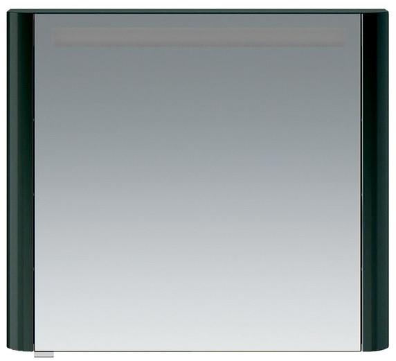 Фото - Зеркальный шкаф 80х70 см антрацит глянец R Am.Pm Sensation M30MCR0801AG зеркальный шкаф 80х70 см белый глянец l am pm sensation m30mcl0801wg