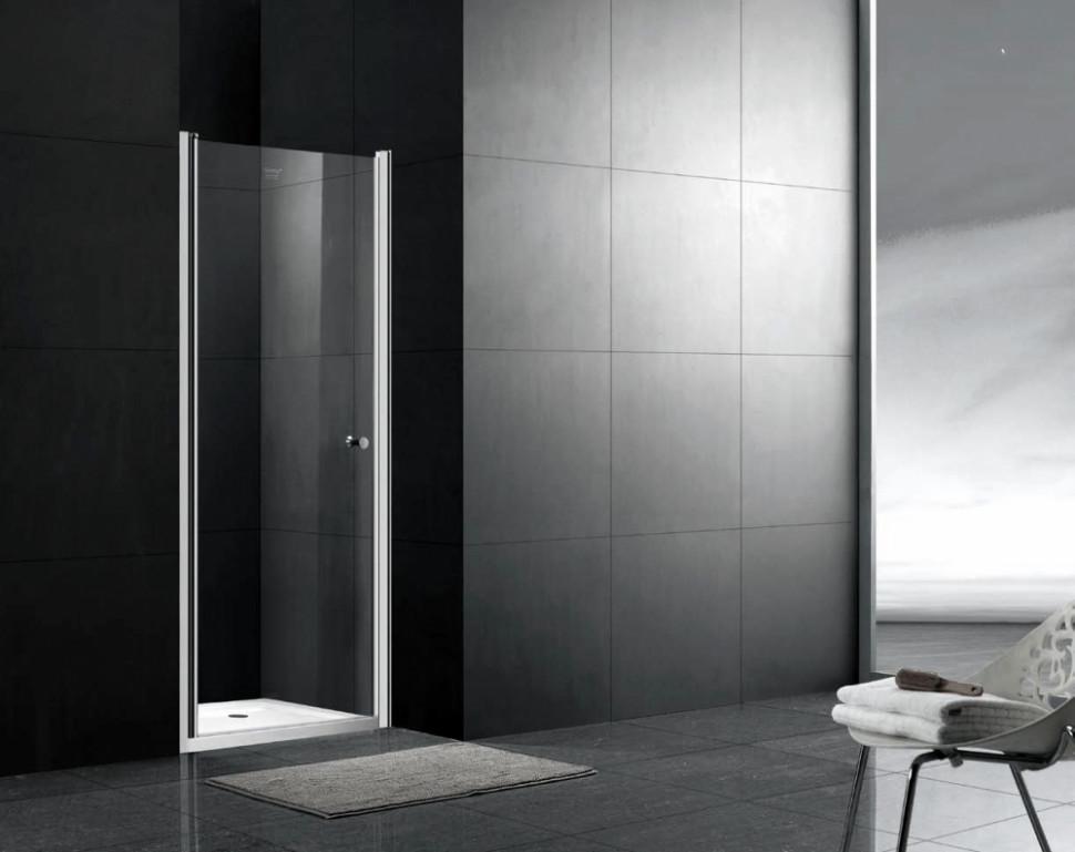 шторка для ванны 80 см gemy new rockcoco s03200 прозрачное Душевая дверь 90 см Gemy New Rockcoco S03190B прозрачное
