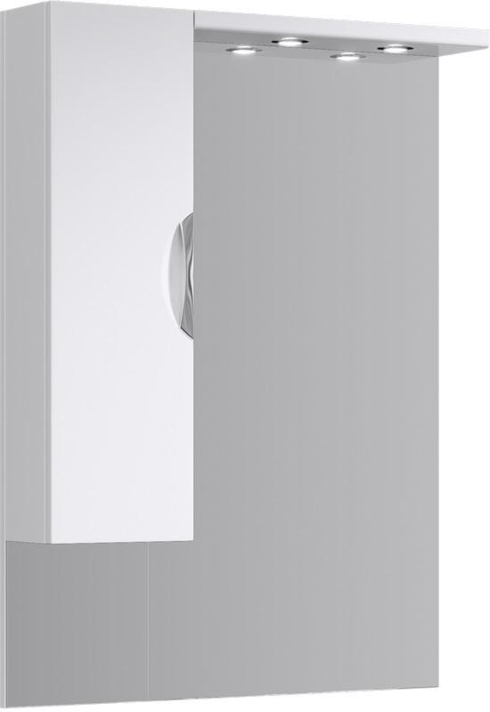 Зеркальный шкаф 80х108 см с подсветкой Aqwella Ecoline Eco-L.02.08 фото