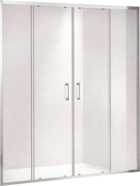 Душевая дверь 160 см Gemy Victoria S30191B прозрачное кордщетка skrab 35475