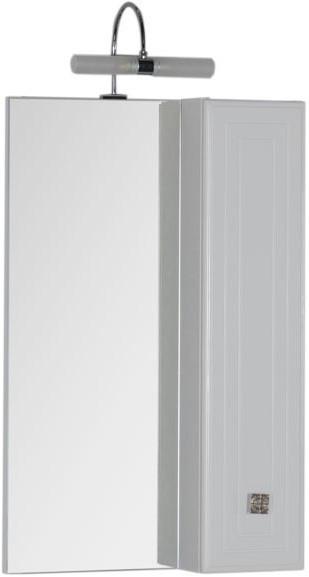 Зеркальный шкаф 55х88,1 см белый Aquanet Стайл 00181511 еж стайл линейка коняшка цвет антрацитовый 15 см