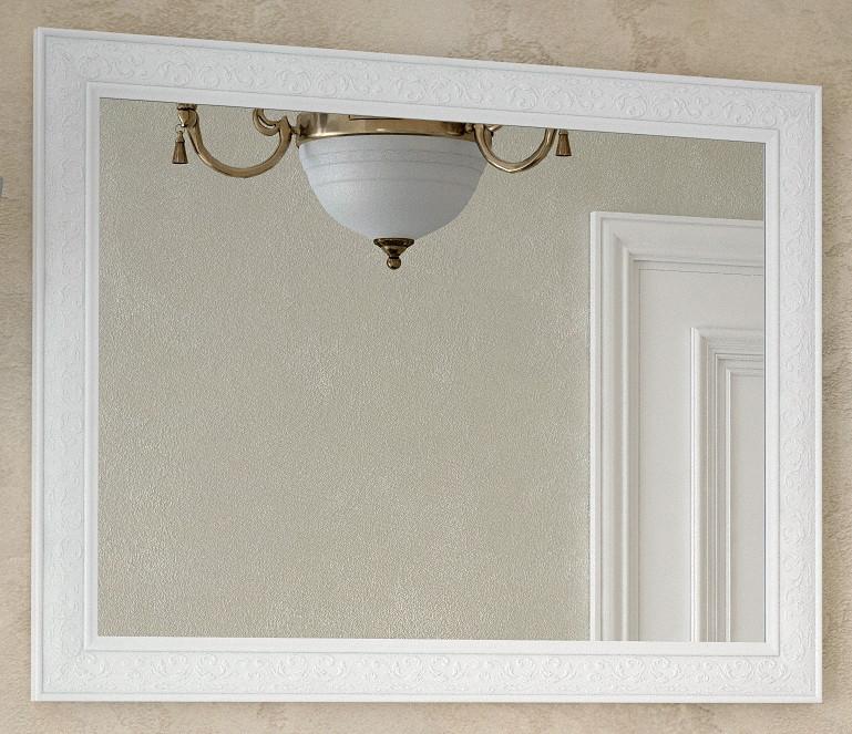 Зеркало 105х80 см белый глянец Corozo Классика SD-00000268 фото