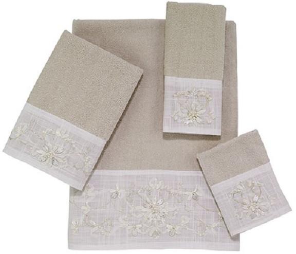 Полотенце для рук 46х28 см Avanti Classical 036084BEI полотенце для рук мини avanti classical 036084ivr