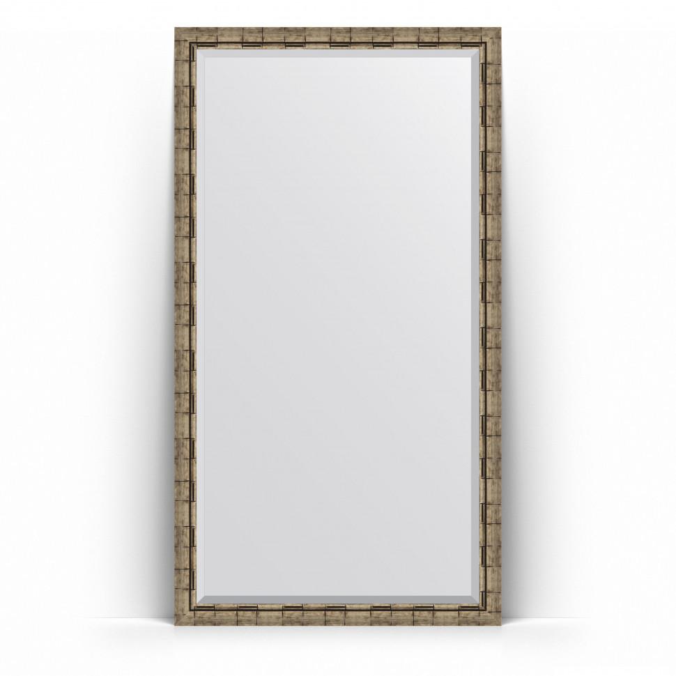 Зеркало напольное 108х198 см серебряный бамбук Evoform Exclusive Floor BY 6147