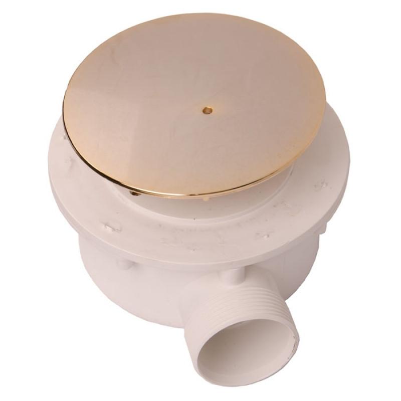 Сифон для поддона Ø 90 мм золото Kerasan Retro 9056gold цена в Москве и Питере