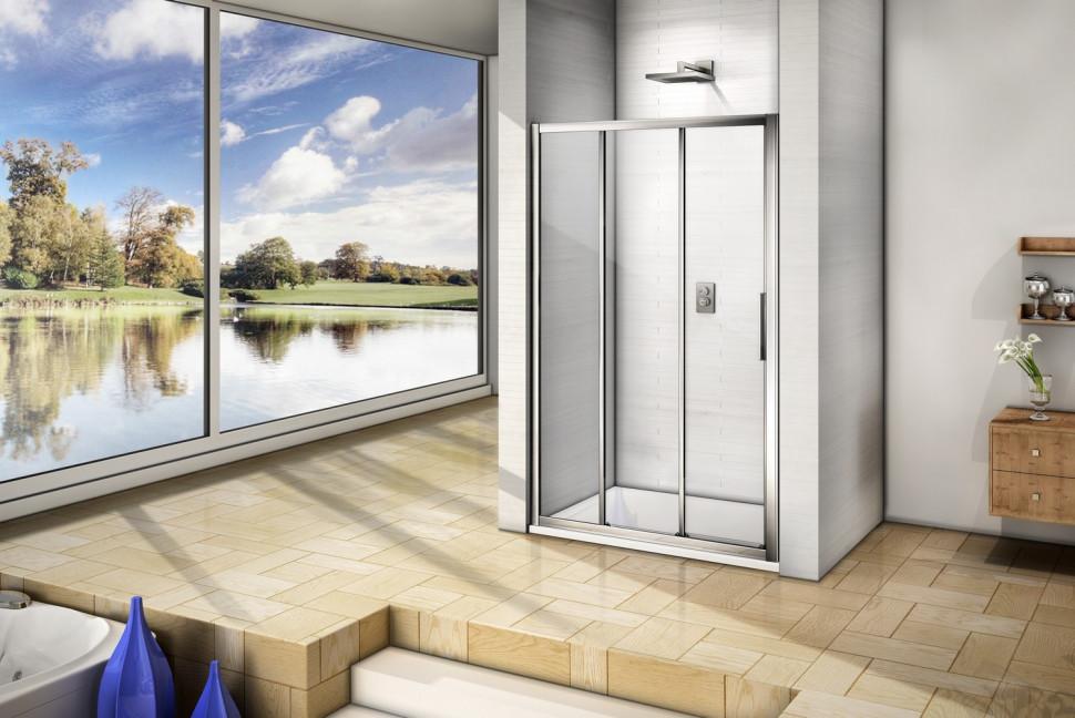 Душевая дверь 120 см Good Door Orion WTW-120-C-CH прозрачное душевая дверь good door galaxy wtw 120 c ch
