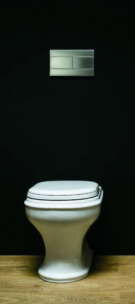Чаша напольного/приставного унитаза Azzurra Charme CHA100/Pbi чаша напольного приставного унитаза azzurra jubilaeum jub100 pbi