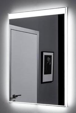 Зеркало с подсветкой 90х85 см Aquanet Палермо 00196644