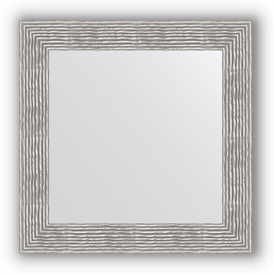 Зеркало 70х70 см волна хром Evoform Definite BY 3153 зеркало 80х80 см волна хром evoform definite by 3249