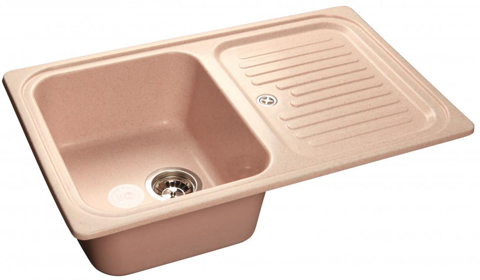 Кухонная мойка светло-розовый GranFest Standart GF-S780L