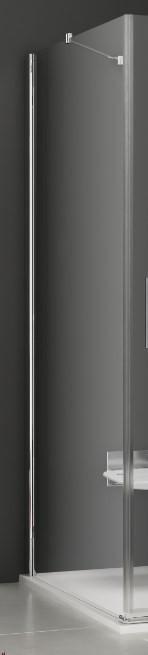 купить Боковая стенка Ravak SmartLine SMPS-90 R хром Transparent 9SP70A00Z1 по цене 26860 рублей