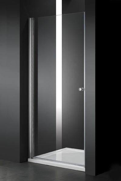 Душевая дверь распашная Cezares Elena 70 см текстурное стекло ELENA-W-B-1-70-P-Cr-L дверное полотно cezares elena w 70 p cr l левая профиль хром стекло рифленое punto