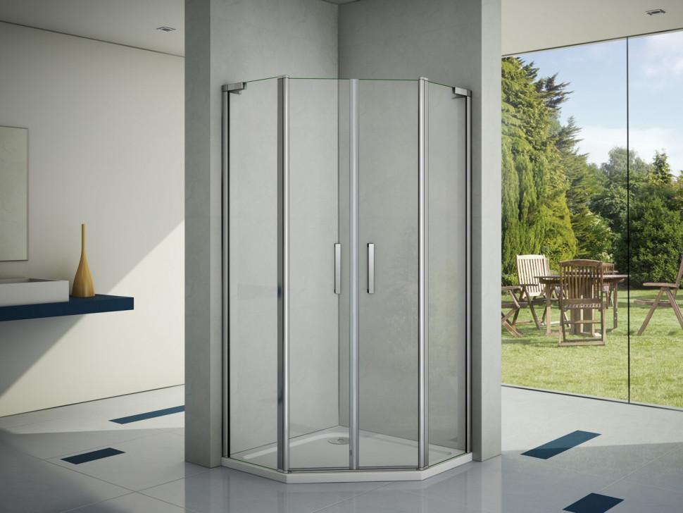 Душевой уголок 100х100 см Good Door Pandora PNT-TD 100-C-CH прозрачное недорого