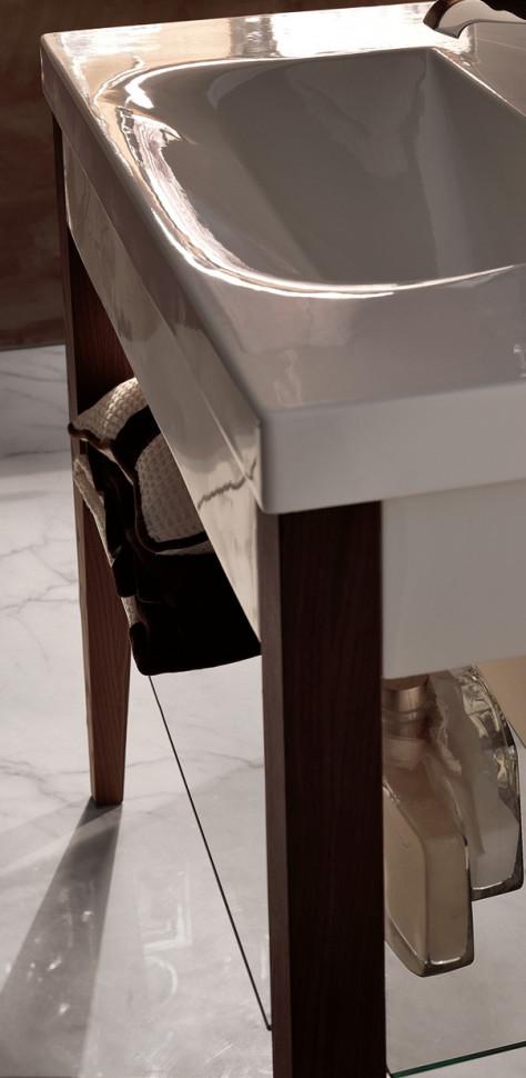 Деревянные ножки для раковины Kerasan Bentley темный ясень 916947 Frassino scuro