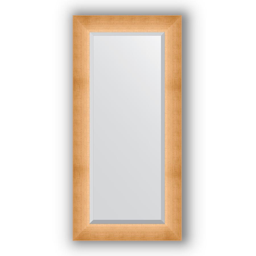 Зеркало 56х116 см травленое золото Evoform Exclusive BY 1151 зеркало evoform exclusive 176х116 травленое золото