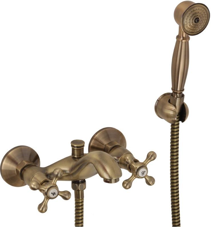 Смеситель для ванны Veragio Agatha Bronzo VR.AGT-3702.BR смеситель для душа veragio agatha bronzo vr agt 3730 br
