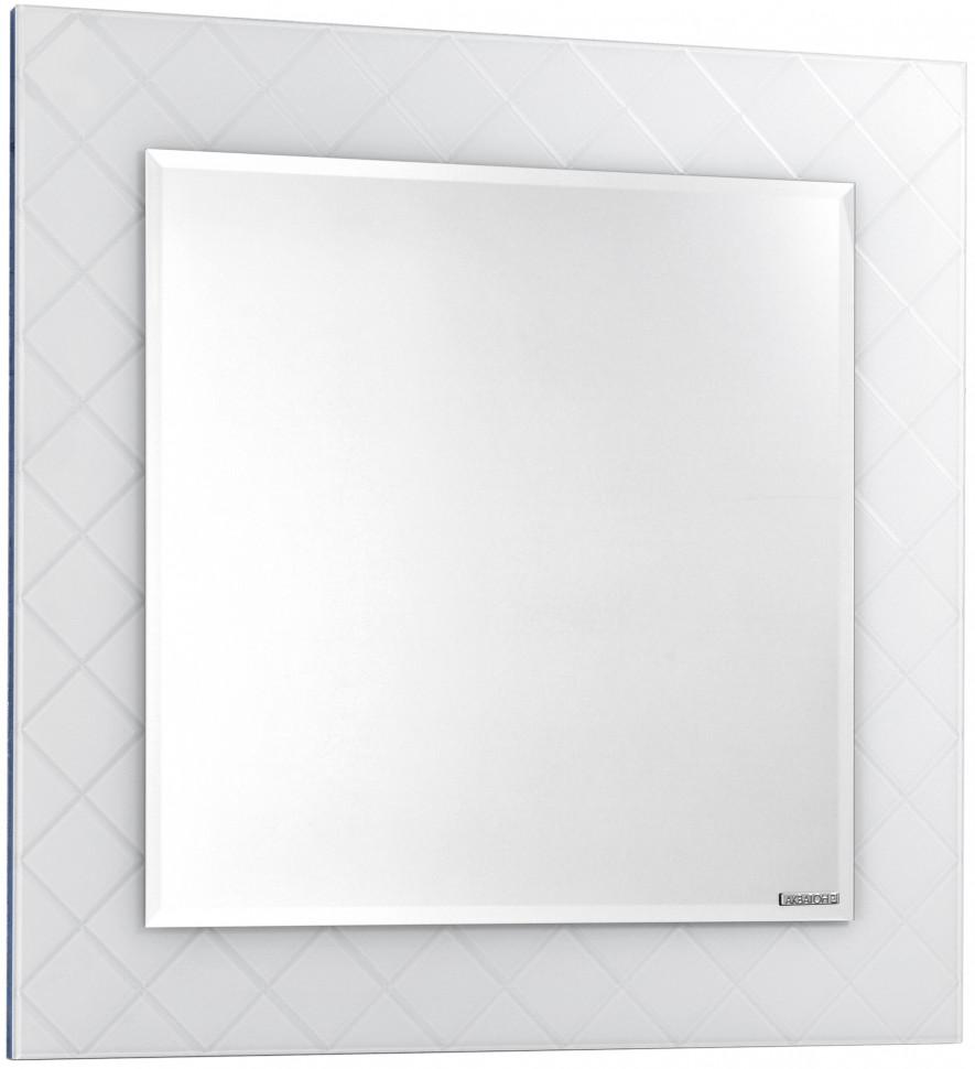 Зеркало 87,6х87,6 см белый Акватон Венеция 1A155702VNL10