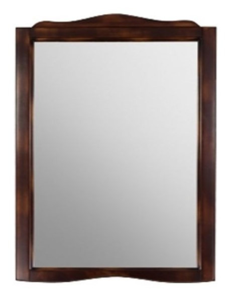 Зеркало 83х110 см мокка Tiffany World Veronica VerSP83timoka