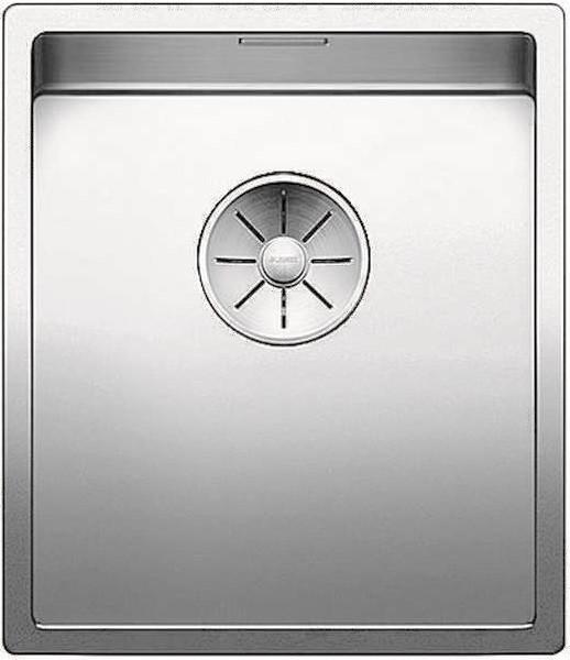 Кухонная мойка Blanco Claron 340-U InFino зеркальная полированная сталь 521571 кухонная мойка blanco andano 340 340 u infino зеркальная полированная сталь 522983