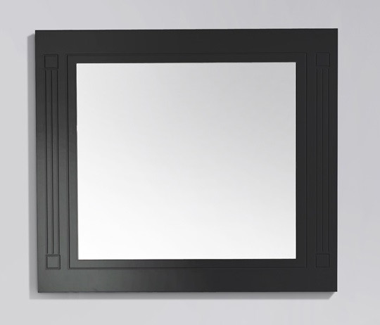 Зеркало 100х80 см черный глянец BelBagno Atria ATRIA-SPC-1000-NL комплект ножек belbagno atria atria pia nl