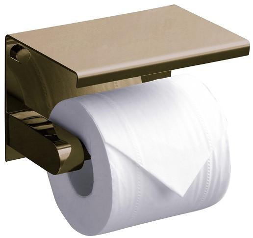 лучшая цена Держатель туалетной бумаги Rush Edge ED77141Bronze