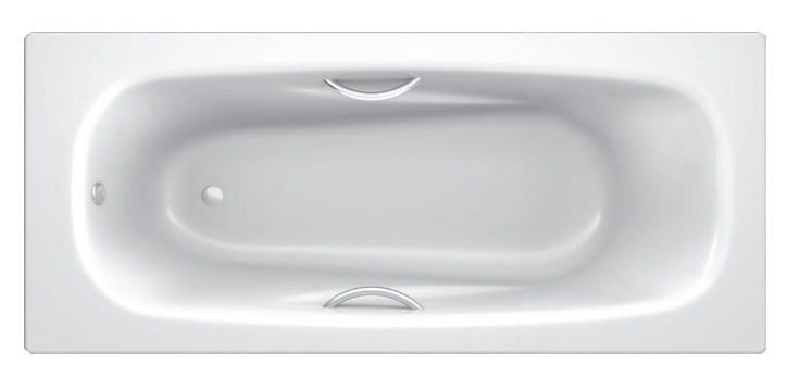 Стальная ванна 170х75 см с отверстиями для ручек BLB Anatomica B75L handles blb b60esls