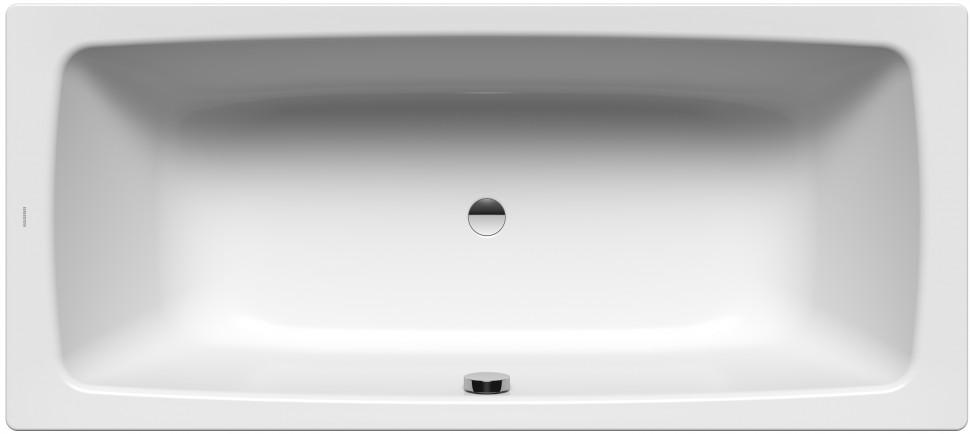 Стальная ванна 180х80 см Kaldewei Cayono Duo 725 с покрытием Easy-Clean стальная ванна kaldewei cayono 747 easy clean 150x70 см с ножками
