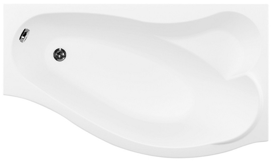 Акриловая ванна 169,8х99,5см правая Aquanet Palma 00205537 цена 2017