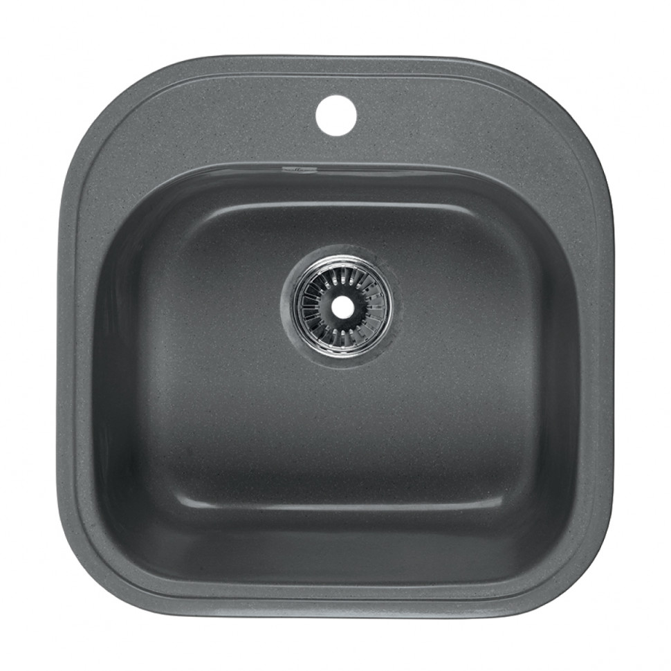 Кухонная мойка серый Rossinka RS48-49S-Gray-Quartz цены