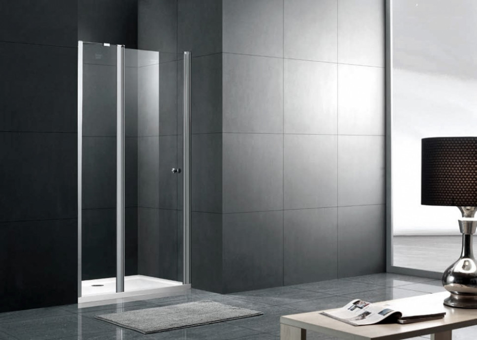 шторка для ванны 80 см gemy new rockcoco s03200 прозрачное Душевая дверь 90 см Gemy New Rockcoco S03191B прозрачное