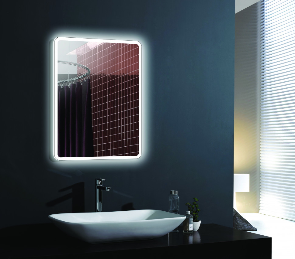 Зеркало с подсветкой 60х80 см Esbano ES-2633HD
