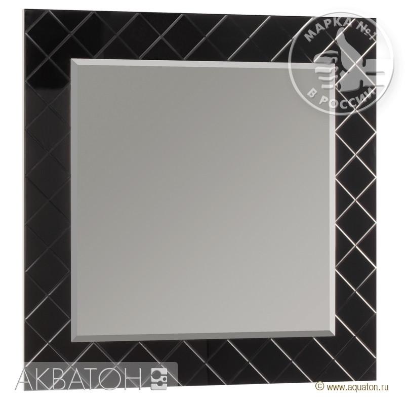 Зеркало Венеция 90 черное Акватон1A155702VNL20