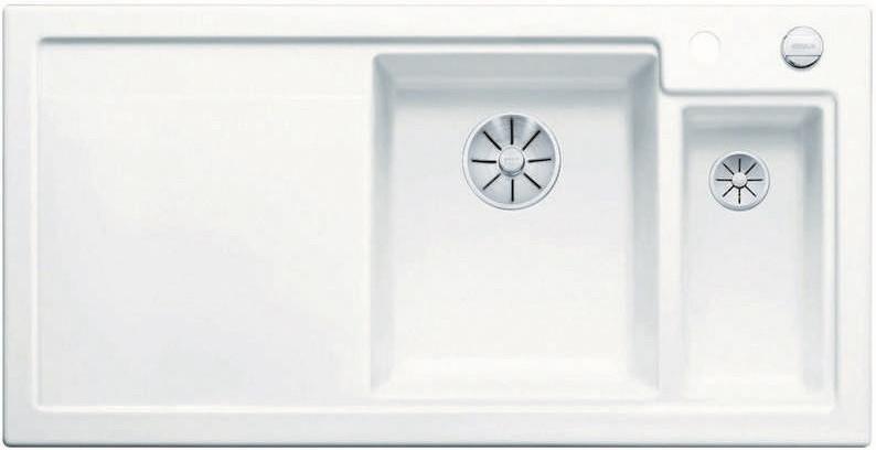 Кухонная мойка Blanco Axon II 6S InFino глянцевый белый 524137 кухонная мойка blanco axon ii 6s infino матовый белый 524142