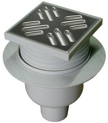 Душевой трап 106×106/50 полированная сталь Winkiel C107N