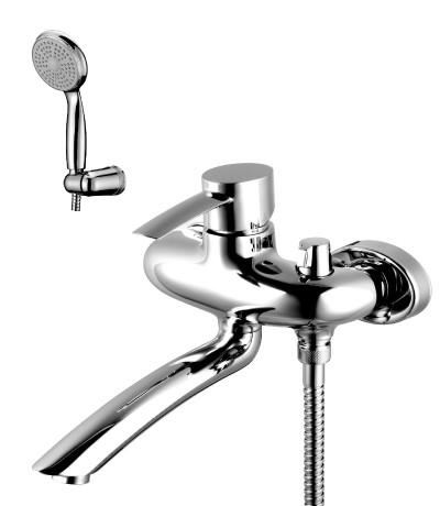 Смеситель для ванны с поворотным изливом Lemark Atlantiss LM3214C фото
